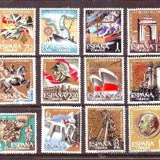 Sellos: ESPAÑA. AÑO 1961.EDIFIL 1353/1364.XXV ANIV. ALZAMIENTO NACIONAL. Lote 27361910