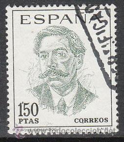 EDIFIL 1831, ENRIQUE GRANADOS, USADO (Sellos - España - II Centenario De 1.950 a 1.975 - Usados)