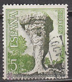 EDIFIL 1807, CIUDAD ENCANTADA (CUENCA), USADO (Sellos - España - II Centenario De 1.950 a 1.975 - Usados)