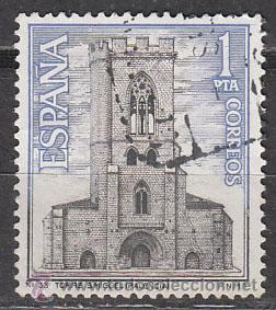EDIFIL 1803, IGLESIA DE SAN MIGUEL (PALENCIA), USADO (Sellos - España - II Centenario De 1.950 a 1.975 - Usados)