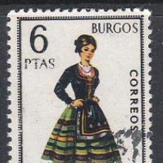 Sellos: EDIFIL 1775, TRAJE REGIONAL DE BURGOS, USADO. Lote 29490467