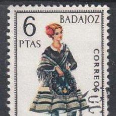 Sellos: EDIFIL 1772, TRAJE REGIONAL DE BADAJOZ, USADO. Lote 29490520