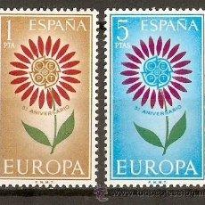 Sellos: ESPAÑA NUM. 1613/4 EUROPA CEPT SERIE COMPLETA NUEVA SIN FIJASELLOS. Lote 237167375