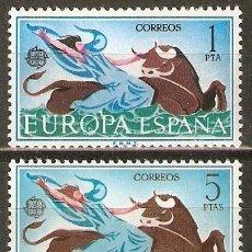 Sellos: ESPAÑA NUM. 1747/48 EUROPA CEPT ** SERIE COMPLETA NUEVA SIN FIJASELLOS. Lote 29566399