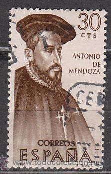 EDIFIL 1750, FORJADORES DE AMERICA 1966, USADO (Sellos - España - II Centenario De 1.950 a 1.975 - Usados)