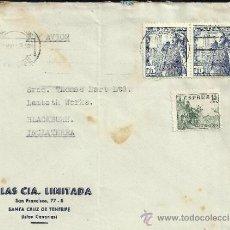 Sellos: CANARIAS TENERIFE CCA INGLATERRA SELLOS FRANCO Y LA MOTA CID. Lote 30958291