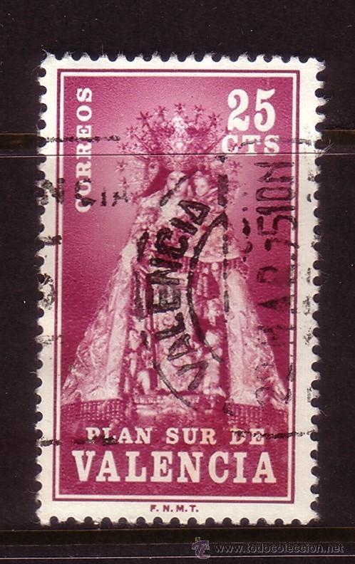 VALENCIA 7 - AÑO 1973 - PLAN SUR DE VALENCIA - VICENTE DE LOS DESAMPARADOS (Sellos - España - II Centenario De 1.950 a 1.975 - Usados)