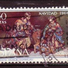 Sellos: ESPAÑA 1764 - AÑO 1966 - NAVIDAD - ARTE. Lote 31952791