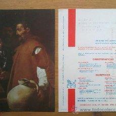 Sellos: A189B-GRAN TARJETA PINTOR VELAZQUEZ PUBLICITARIA FRANQUEO MECANICO H.POSTAL HISTORIA POSTAL 50S. Lote 32064792