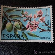 1975. Flora hispánica, IV serie; almendro. 1 p. Nuevo. 2254