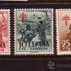 Sellos: ESPAÑA 1121/23* - AÑO 1953 - PRO TUBERCULOSOS. Lote 33206124