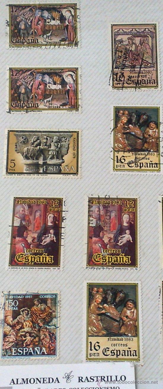 Sellos: CIRCA 1960-80.- HOJA CON 29 SELLOS DE LA ÉPOCA. - Foto 3 - 33360024