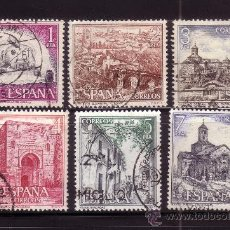 Sellos: ESPAÑA 2266/71 - AÑO 1975 - TURISMO - MONUMENTOS. Lote 33765867