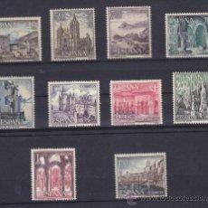 Sellos: ESPAÑA 1964 - 1966, PAISAJES Y MONUMENTOS, SERIE TURISTICA, 2 SERIES COMPLETAS, NUEVOS **. Lote 34012673