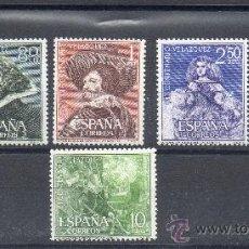 Sellos: ESPAÑA=EDIFIL Nº 1340/43=VELAZQUEZ=NUEVO SIN FIJASELLOS=REF:0032. Lote 34695337