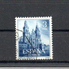 Sellos: ESPAÑA=EDIFIL Nº 1131=AÑO SANTO COMPOSTELANO=MATASELLADO=REF:0038. Lote 34695518