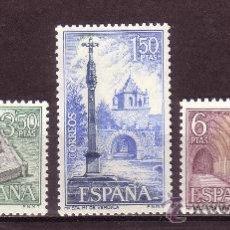 Sellos: ESPAÑA 1834/36** - AÑO 1967 - MONASTERIO DE VERUELA. Lote 179338211