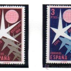 Sellos: ESPAÑA.- EDIFIL Nº 1220/21, SERIE COMPLETA EN NUEVO. Lote 34908873