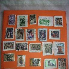 Sellos: 23 SELLOS DE ESPAÑA- NAVIDAD DESDE 1961-1986. Lote 35508607