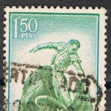 Sellos: 1263 1,50 PTAS NATURAL / FIESTA NACIONAL, TAUROMAQUIA. Lote 35651928