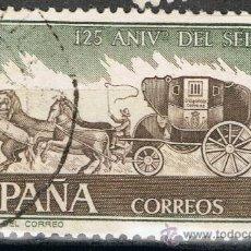 Sellos: 2233 3 PTA DILIGENCIA DEL CORREO / 125 ANIVERSARIO DEL SELLO ESPAÑOL.. Lote 35655143
