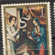 Sellos: 1964 1 PTA LA ANUNCIACIÓN / LUIS DE MORALES 'EL DIVINO'.. Lote 35660820
