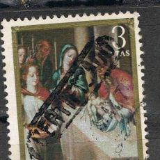 Sellos: 1967 3 PTA LA PRESENTACIÓN / LUIS DE MORALES 'EL DIVINO'. Lote 35661146