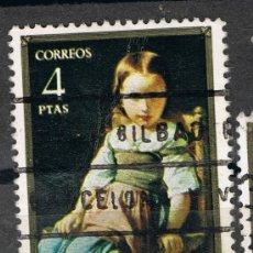 Sellos: 2206 4 PTAS NENA / EDUARDO ROSALES Y MARTÍN. Lote 35661907