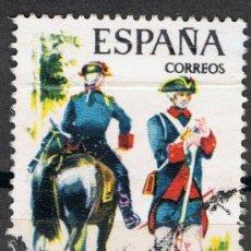 Sellos: 2237 2 PTA REAL CUERPO DE ARTILLERÍA. / UNIFORMES MILITARES.. Lote 35662108