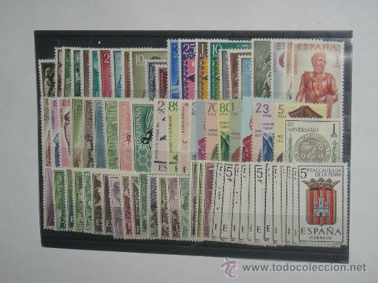 SELLOS NUEVOS ESPAÑA AÑO 1962 COMPLETO. (Sellos - España - II Centenario De 1.950 a 1.975 - Nuevos)