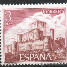 Sellos: 2095 / NUEVO / 3 PTAS BIAR (ALICANTE) / CASTILLOS DE ESPAÑA.. Lote 229351030