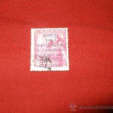 Francobolli: VISITA DEL CAUDILLO A CANARIAS EN USADO EN . Lote 36188046
