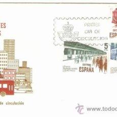 Francobolli: ESPAÑA SOBRE PRIMER DIA CIRCULACION TRANSPORTE COLECTIVO. Lote 55868116