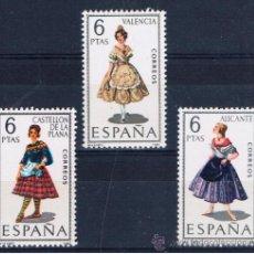 Sellos: TRAJES REGIONALES CASTELLO VALENCIA ALACANT NUEVOS** . Lote 39773681