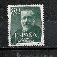 Sellos: ESPAÑA 1954, EDIFIL Nº 1142**, MENENDEZ PELAYO. Lote 37405274