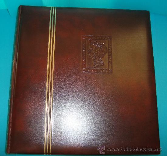 Sellos: COLECCION SELLOS DE ESPAÑA 1950 A 1964 NUEVOS CON FIJASELLOS Y CIRCULADOS MONTADO EN ALBUM - Foto 2 - 37562848