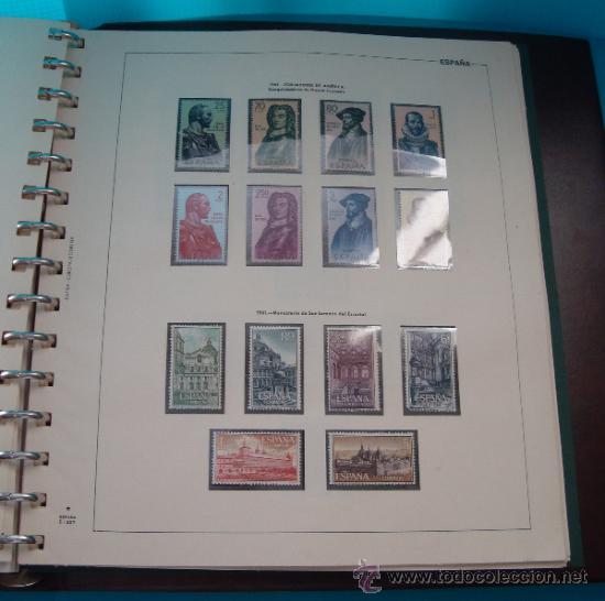 Sellos: COLECCION SELLOS DE ESPAÑA 1950 A 1964 NUEVOS CON FIJASELLOS Y CIRCULADOS MONTADO EN ALBUM - Foto 30 - 37562848