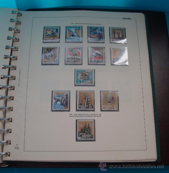 Sellos: COLECCION SELLOS DE ESPAÑA 1950 A 1964 NUEVOS CON FIJASELLOS Y CIRCULADOS MONTADO EN ALBUM - Foto 31 - 37562848