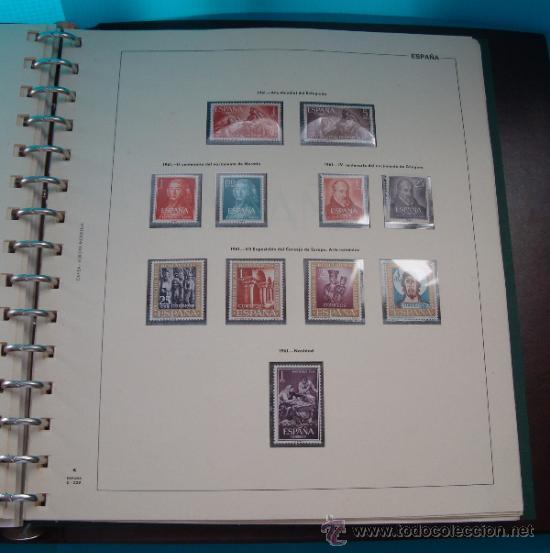 Sellos: COLECCION SELLOS DE ESPAÑA 1950 A 1964 NUEVOS CON FIJASELLOS Y CIRCULADOS MONTADO EN ALBUM - Foto 32 - 37562848