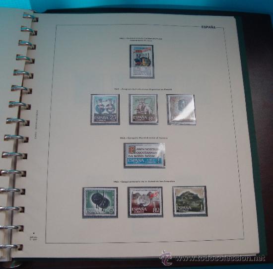 Sellos: COLECCION SELLOS DE ESPAÑA 1950 A 1964 NUEVOS CON FIJASELLOS Y CIRCULADOS MONTADO EN ALBUM - Foto 40 - 37562848
