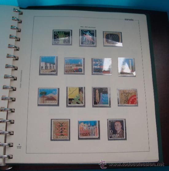 Sellos: COLECCION SELLOS DE ESPAÑA 1950 A 1964 NUEVOS CON FIJASELLOS Y CIRCULADOS MONTADO EN ALBUM - Foto 46 - 37562848