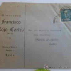 Sellos: CARTA COMERCIAL DE LEON. Lote 38230660