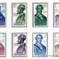 Sellos: FORJADORES 1963 NUEVOS** VALOR 2013 CATALOGO 11.75 EUROS SERIE COMPLETA . Lote 38427505
