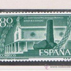 Sellos: EXALTACION FRANCO 1956 NUEVOS** VALOR 2013 CATALOGO 7.-- EUROS SERIE COMPLETA . Lote 38431011