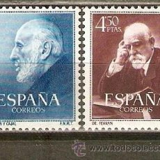 Sellos: ESPAÑA EDIFIL NUM. 1119/20 * SERIE COMPLETA CON FIJASELLOS. Lote 233299295