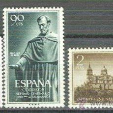 Timbres: ESPAÑA 1126 / 1128 - UNIV.SALAMANCA 1953. NUEVA SIN FIJASELLOS. CAT. 26€.. Lote 38698721