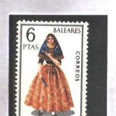 Sellos: ESPAÑA 1967 - EDIFIL NRO. 1773 - TRAJES REGIONALES : BALEARES - NUEVO. Lote 38973566