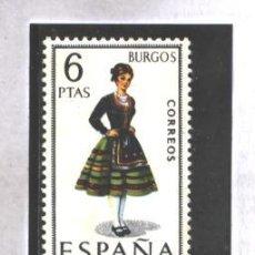 Sellos: ESPAÑA 1967 - EDIFIL NRO. 1775 - TRAJES REGIONALES : BURGOS - NUEVO. Lote 38973575
