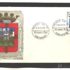 Sellos: ESPAÑA 1965 - SPD EDIFIL NRO. 1636 - SANTANDER. Lote 39391585