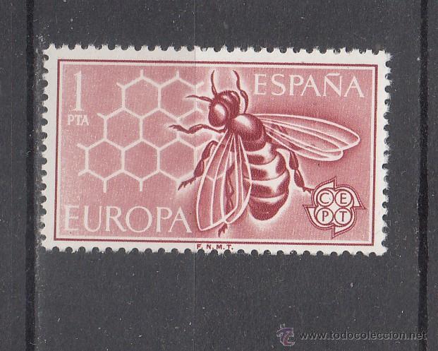 ESPAÑA 1448 SIN CHARNELA, EUROPA-CEPT, ABEJA (Sellos - España - II Centenario De 1.950 a 1.975 - Nuevos)